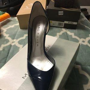 Marc Fisher Navy Heels